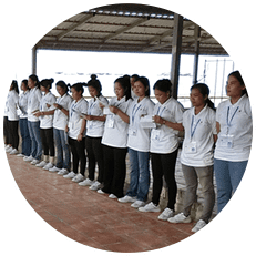 State of the training in Cambodia